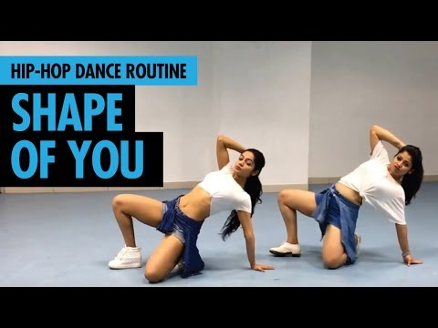 Shape Of You | Ed Sheeran | Hip Hop Dance Routine by Sonali & Vijetha | LiveToDance with Sonali