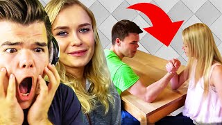 Reacting To Our FIRST VIDEOS With My GIRLFRIEND!