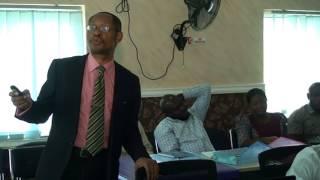 Presentation on Activisim by Barr Eze Onyekpere Part 1