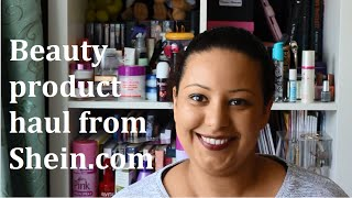 Shein Beauty Products - make up brushes and acrylic storage case haul | Casual Beauty UK