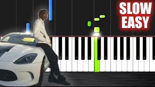 Wiz Khalifa - See You Again ft. Charlie Puth - SLOW EASY Piano Tutorial by PlutaX