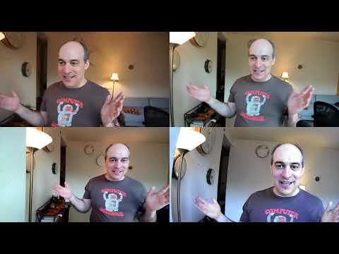 Webcam Comparison Sony A5100 vs. Logitech Brio vs. Aukey vs. Wansview