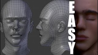 Modeling the Human Head Made Easy