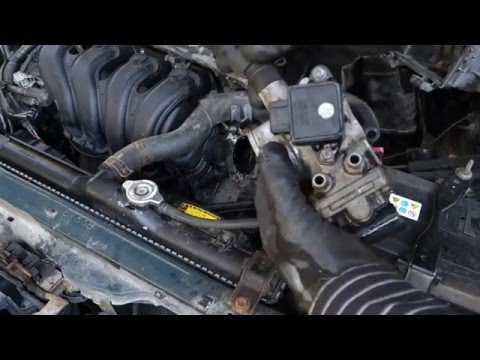 How to replace throttle body Toyota VVT-i engines. Years 2000 to 2010
