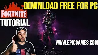 FREE FORTNITE DOWNLOAD TUTORIAL ON PC   NO SCAMS   HINDI