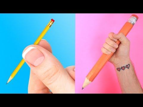 Trying 25 BRIGHT LIFE HACKS AGAINST STRESS By 5 Minute Crafts Part 2