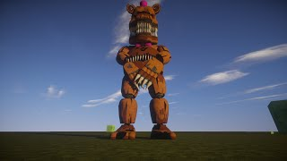 Five Nights at Freddy's 4 (FNAF 4) Minecraft Mods Animation Models
