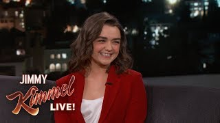 Maisie Williams Knows the End to Game of Thrones