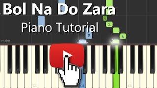Bol Do Na Zara Azhar|Armaan|Hindi Song|Piano Chords Tutorial Instrumental Karaoke By Ganesh Kini