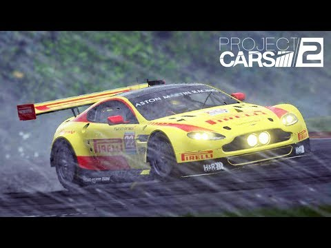 Project CARS 2 - Racing in a Thunderstorm with VR