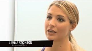Gemma Atkinson interview @ Sports Direct Magazine shoot - Clothes Show TV