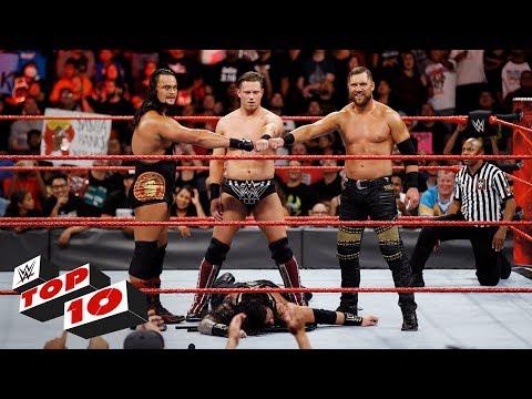 Xxx Mp4 Top 10 Raw Moments WWE Top 10 September 25 2017 3gp Sex