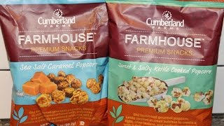 Cumberland Farms: Sea Salt Caramel Popcorn and Sweet & Salty Kettle Cooked Popcorn Review