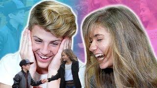 MATT & KATE REACT TO THEIR OLD CRINGY VIDEOS!!