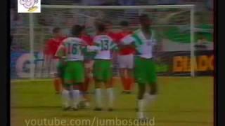 ( السعودية 4 - 3  إيران ) تصفيات كأس العالم 1994