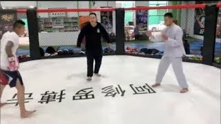 Wing Chun Hobbyist Challenges Professional MMA Fighter