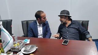 خنده دار ترین مصاحبه ی حسن ریوندی و رضا رفیع در نمایشگاه بین المللی تهران