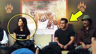 Salman And Katrina Kaif Grand Entry At Bina Kak Book Launch Silent Sentinels Of Ranthambhore