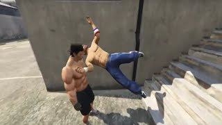 GTA 5 EXTREME WRESTLING AND FUNNY MOMENTS VOL. 6