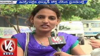 Pharma.D students are in concern with unemployment - Hyderabad (19-05-2015)