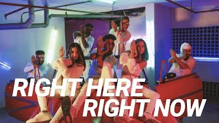 FAMOUS CREW | RIGHT HERE RIGHT NOW, BLUFFMASTER | 2019 #LATESTDANCEVIDEO
