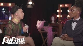 Queen To Queen: Aja & Nina Bo'Nina Brown | RuPaul's Drag Race Season 9 | Now on VH1