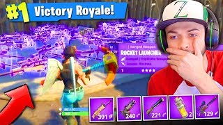 WINNING using *ONLY* EPIC guns in Fortnite: Battle Royale!