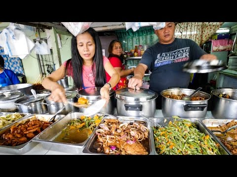 Xxx Mp4 Philippines Street Food AMAZING Filipino Food At Aling Sosing 39 S Carinderia In Manila 3gp Sex