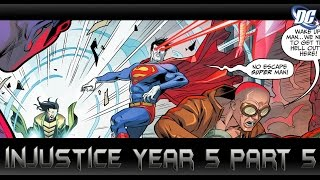 ซุปเปอร์แมนตัวปลอม?[Injustice Year5 Part5]comic world daily