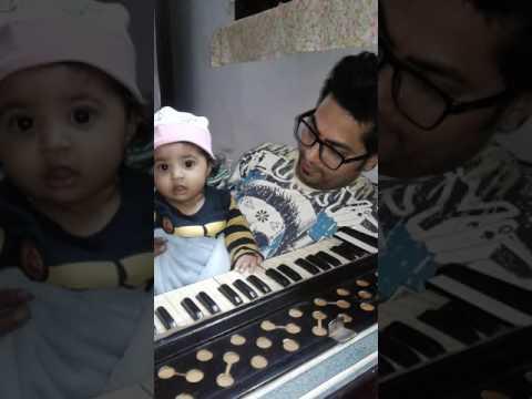 6 Month Baby Riaz a Singing Sehaj Bhagat