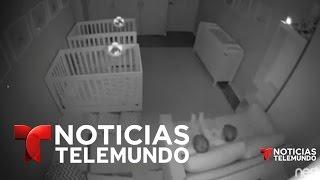 Dos gemelos juegan toda la noche en vez de dormir | Noticias | Noticias Telemundo