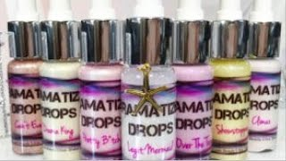 SWATCHES: Love Luxe Beauty Dramatizer Drops