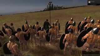 Total War Rome 2- Swinging In The Wind With The Naked Swords.