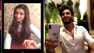 Did Ranveer Singh Make A Video Call To Deepika Padukone During Sonam Kapoor Anand Ahuja Reception ?