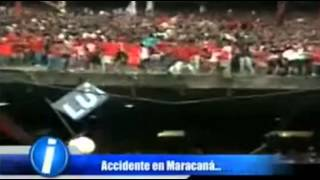 ACCIDENTE EN EL ESTADIO DE MARACANA