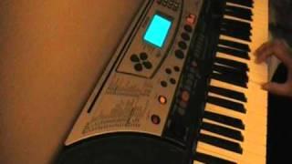 Mere haath mein-Fanaa instrumental on keyboard