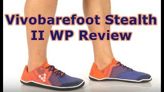 Vivobarefoot Stealth II WP Review for Forefoot Running