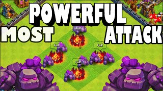 Clash of Clans - MOST POWERFUL ATTACK?