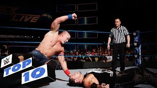 Top 10 SmackDown LIVE moments: WWE Top 10, Jan. 10, 2017