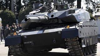 Japan's 4th Generation Main Battle Tank Type 10 (TK-X)