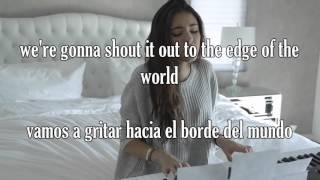Madison Beer - Unbreakable (Lyrics español e Inglés)