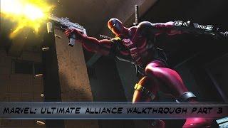 Marvel: Ultimate Alliance PS4 Walkthrough Part  3