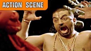 Kamal Haasan Saves Lord Vishnu   Action Scene   Dashavtar   Kamal Haasan, Asin   HD