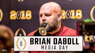 Brian Daboll reacts to Nick Saban chewing him out