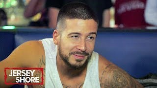 Loser Has To Oil Up Vinny's Stripper Body | Jersey Shore: Family Vacation