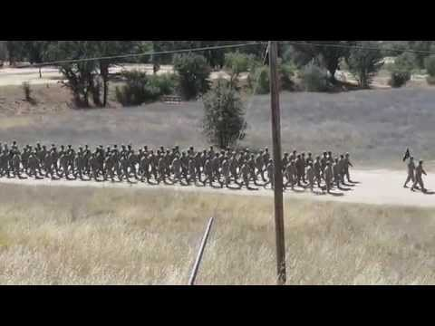 watch 100th BN Bravo & Charlie Company Marching Cadence in Samoan