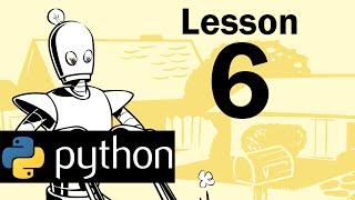 Lesson 6 - Python Programming (Automate the Boring Stuff with Python)