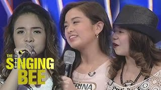 Ex-Goin Bulilit Kids Trina, Kristel and Kiray join The Singing Bee