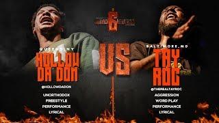 HOLLOW DA DON VS TAY ROC SMACK/ URL RAP BATTLE | URLTV