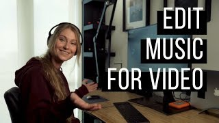 How to EDIT music tracks to SMASH your next video